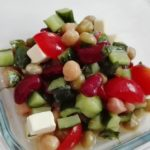 【バジル】豆サラダの作り方
